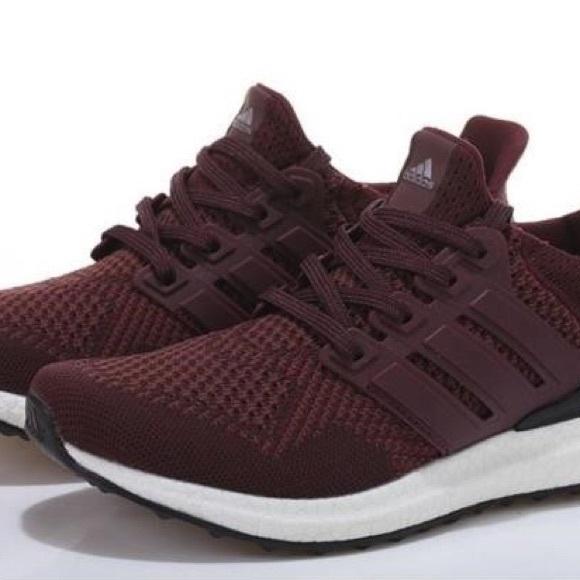 adidas Shoes | Maroon Ultra Boost